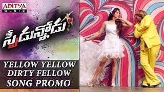 Yellow Yellow Dirty Fellow Song Promo| Speedunnodu Songs |Bellamkonda Sreenivas, Sonarika, Tamanna