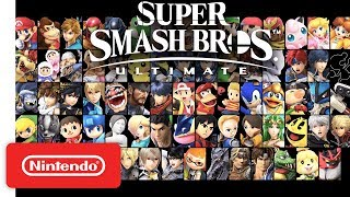 Super Smash Bros. Ultimate - Overview Trailer feat. The Announcer - Nintendo Switch