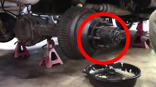 HOW TO: AXLE SEAL REPLACEMENT ON 1 TON FULL FLOATING REAR AXLE