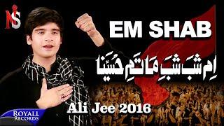 Ali Jee | Em Shab | 2016 (Subtitles Available in English)