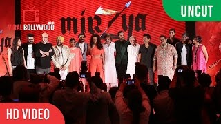 Uncut - Mirzya Music Launch | Gulzar, Shankar Eshaan Loy, Daler Mehndi, Harshvardhan & Anil Kapoor