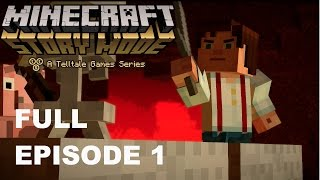 Minecraft: Story mode FULL Episode 1 Order of the stone - Non commentary gameplay