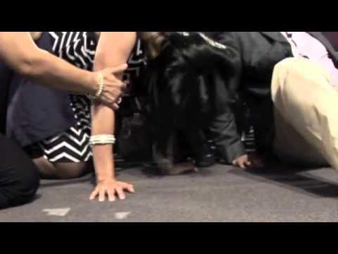 Bajo la Uncion del Espiritu Santo en Ensancha 2010