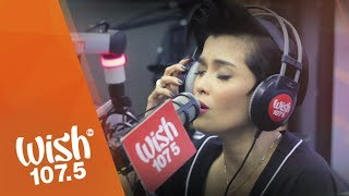"KZ Tandingan covers ""Tadhana"" (Up Dharma Down) on Wish 107.5 Bus"