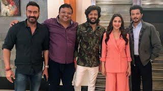 Madhuri Dixit, Anil Kapoor, Ajay Devgn, Riteish Deshmukh | Best 'Total Dhamaal' Interview| HrishiKay