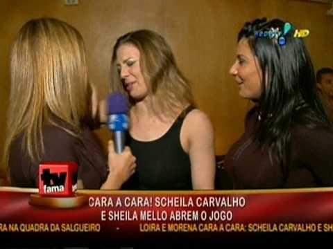Sheila Mello e Scheila Carvalho juntas novamente