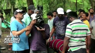 Making of Killing Veerappan | Ram Gopal Varma | Shiva Rajkumar | Sandeep Bhardwaj