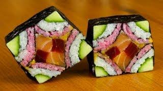 Mosaic Sushi Roll Evolution - Food Recipe