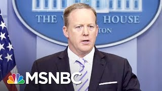 Why Sean Spicer's Resignation Is Bad News For Reince Priebus | MSNBC