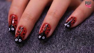 DIY Lady Bug Nail Art | Nail Art Designs - POPxo