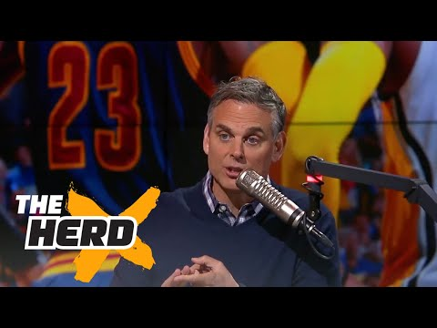 Colin Cowherd reacts to LeBron James and the Cavaliers sweeping the Pacers THE HERD