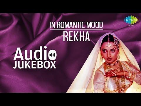 Popular Romantic Songs of Rekha | In Ankhon Ki Masti | Audio Jukebox