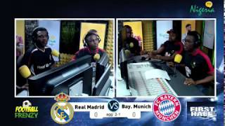 Real Madrid v Bayern Munich UCL Semi-Final(2nd leg) Live Commentary