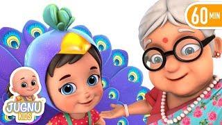 Nani Teri Morni ko More Le Gaye | Hindi Nursery Rhymes | Hindi Kavita by Jugnu Kids