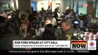 Toronto Mayor Rob Ford Denies Eating woman's Pussy