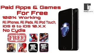 How To Download Paid Apps And Games For Free Without Jailbreak on iOS 10.0.2 , iOS 9  | Hindi | Urdu