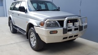 (SOLD) Mitsubishi Challenger 4x4 for sale 2003 review