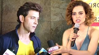 ANGRY Hrithik Roshan Walks Away From Interview When Reporter Asks About Kangana Ranaut