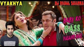 Baby Ko Bass Pasand Hai   Sultan   Salman Khan & Anushka Sharma   KAVI KI VYAKHYA