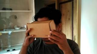 Experiencing 360 Degree Virtal Reality with Google CardBoard