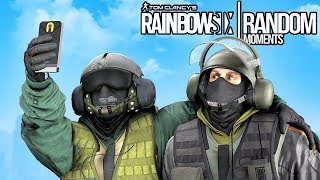 Rainbow Six Siege - Random Moments: #13 (Worst Thermite Ever,Hostage Fails)