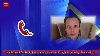 Məhbus milli fəal Həbib Sasaniyan
