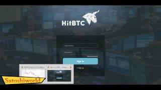 Empezando con el Trading en HitBTC Tutorial Parte 1 compra    Satoshiworld