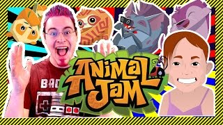 ANIMAL JAM! - Games Against Viewers, Dressing Up, Checking Out Dens, and GIVEAWAYS!