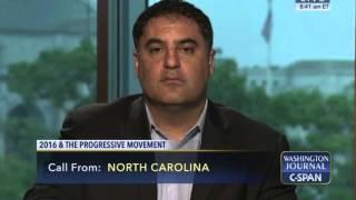 Cenk Uygur On C-SPAN's Washington Journal