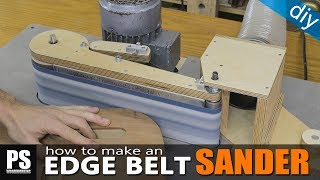 Homemade Edge Belt Sander / part1