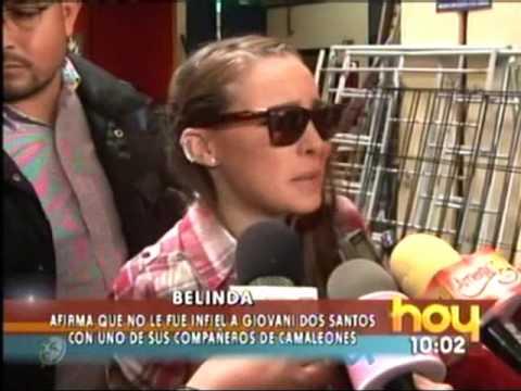 Belinda Niega Estar Embarazada HOY