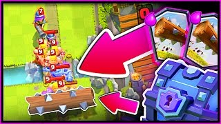 LEGENDARY LOG • CAN WE GO UNDEFEATED!? • Clash Royale