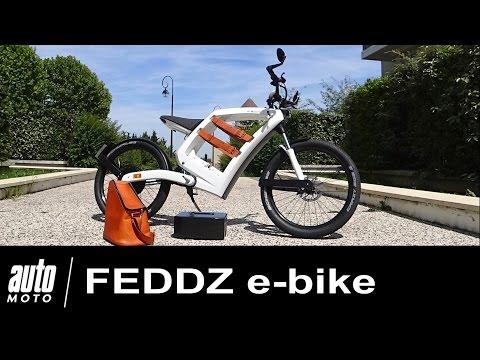 FEDDZ e bike Mobylette électrique sans permis ESSAI AUTO MOTO.COM