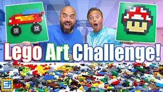 Giant LEGO Pixel Art Challenge!
