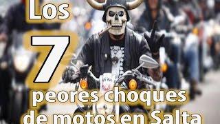 Estos son los peores choques de motos en Salta