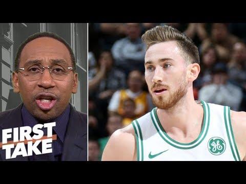 Xxx Mp4 Stephen A Smith Gordon Hayward Is Celtics39 Biggest Problem First Take 3gp Sex