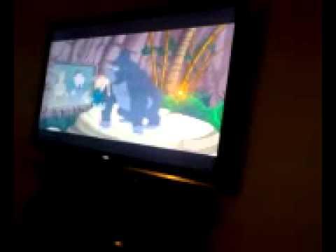 Steve getting raped by gorilla