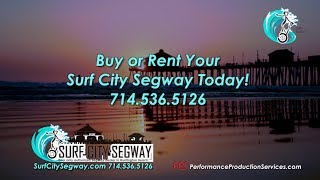 Segway Tours, Sales and Rentals at Surf City Segway in Huntington Beach California