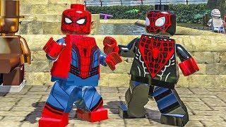 HOMEM ARANHA GUERRA CIVIL E MILES MORALES no LEGO Marvel Super Heroes EXTRAS #8