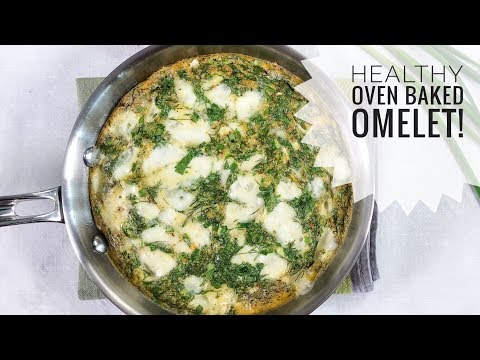 Ina Garten's Oven Baked Omelet with a healthy twist | Sona Manukian | Healthy By You | EPISODE 019