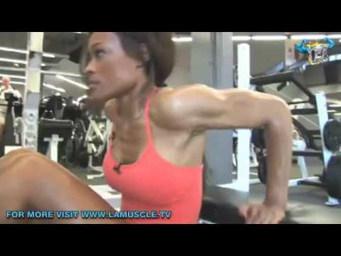 Work Out With Fitness Godess Alicia Marie Bikini Basics Part 2