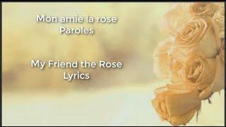 mon amie la rose (Françoise Hardy)  | French & English Lyrics
