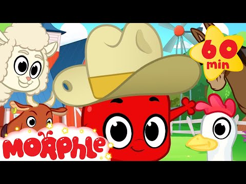 Morphle and the Farm Animals 1 hour funny Morphle kids videos compilation