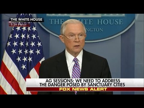 Jeff Sessions Threatens to Withhold Federal Funds from Sanctuary Cities