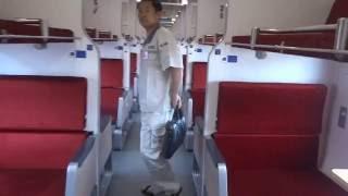 รีวิวตู้นอนรถไฟชั้นสองใหม่  new Thai soft sleeper class railway car
