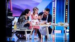 Absolut adorabil! Gabriela Leahu are 4 ani și gătește cu Nicolai Tand
