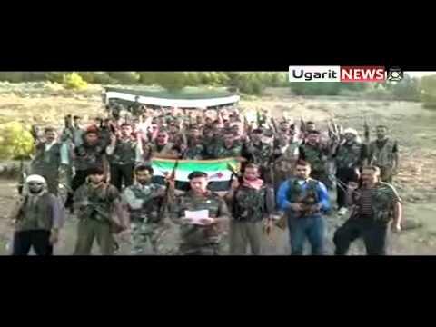 26 8 Jarables Aleppo أوغاريت جرابلس ادلب تشكيل كتيبة احرار صرين