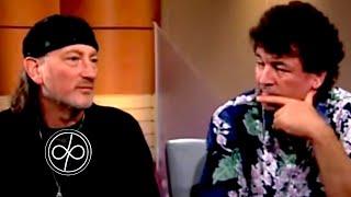 Ian Gillan & Roger Glover being interviewed by John Laws on Australian TV 1999
