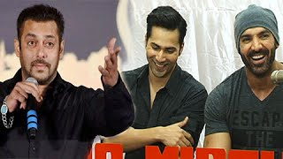 Varun Dhawan John Abraham JOKE About Salman Khan Wedding