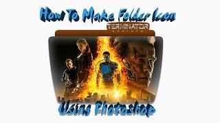 How to make movie folder icon using adobe photoshop